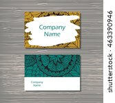 creative template for designer  ... | Shutterstock .eps vector #463390946