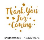 thank you alphabet typography... | Shutterstock .eps vector #463394078