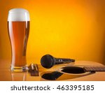 Glass Of Beer And Microphone...