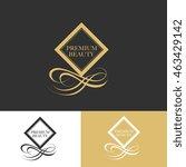premium beauty logo template | Shutterstock .eps vector #463429142