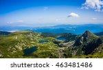 the seven rila lakes  rila... | Shutterstock . vector #463481486