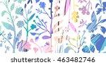 horizontal banner with... | Shutterstock .eps vector #463482746