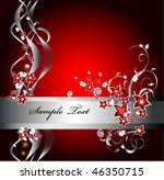 abstract red concept background   Shutterstock .eps vector #46350715