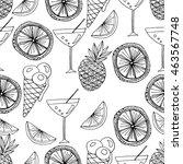 vector seamless pattern....   Shutterstock .eps vector #463567748