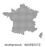 map of france | Shutterstock .eps vector #463582172
