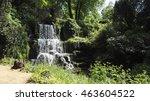 Waterfall At Bowood House And...