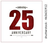 celebrating anniversary concept ... | Shutterstock .eps vector #463631912