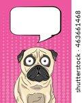 Pop Art Illustration Of A Pug
