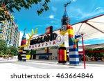 johor baharu  malaysia   june... | Shutterstock . vector #463664846