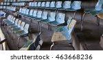 old stadium chair | Shutterstock . vector #463668236