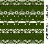 seamless border | Shutterstock .eps vector #463691036