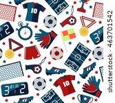 sport vector illustration.... | Shutterstock .eps vector #463701542