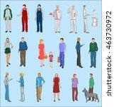 people vector | Shutterstock .eps vector #463730972
