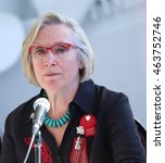 Small photo of GATINEAU, QUE.- AUGUST 3, 2016: Carolyn Bennett is Minister of Indigenous and Northern Affairs in Canada.