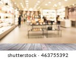 empty wood with blur...   Shutterstock . vector #463755392