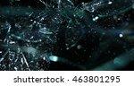 glass shards fragmenting | Shutterstock . vector #463801295