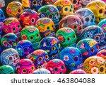 mexican culture fiesta ... | Shutterstock . vector #463804088