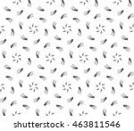 black and white tones. outline... | Shutterstock .eps vector #463811546