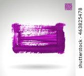 brushstroke and texture. vector ...   Shutterstock .eps vector #463825478