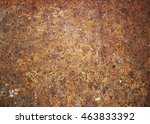 rusty metal   rusty and... | Shutterstock . vector #463833392