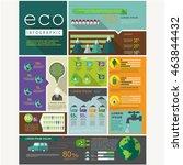eco graphic vector | Shutterstock .eps vector #463844432