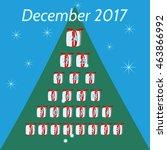 December Calendar For Advent...