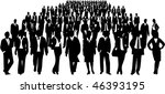 business people | Shutterstock .eps vector #46393195