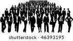 business people | Shutterstock .eps vector #46393195