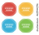 colorful vector abstract circle ... | Shutterstock .eps vector #463944296
