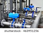 large industrial water... | Shutterstock . vector #463951256