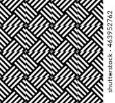 graphic geometric pattern ... | Shutterstock . vector #463952762