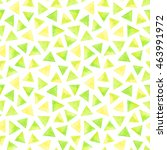 watercolor yellow and green... | Shutterstock . vector #463991972
