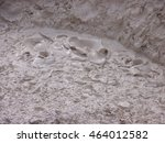 mud pot in artists paintpots... | Shutterstock . vector #464012582