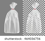 transparent packaging isolated... | Shutterstock .eps vector #464036756