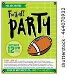 an american football party... | Shutterstock .eps vector #464070932