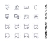 devices icons | Shutterstock .eps vector #464078726