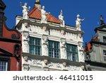 Architecture of Gdansk - Poland - stock photo
