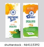 india independence day banner... | Shutterstock .eps vector #464115392