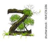 tree font on white background... | Shutterstock .eps vector #464156186