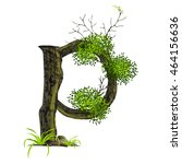 tree font on white background... | Shutterstock .eps vector #464156636