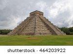 ruins of the chichen itza ... | Shutterstock . vector #464203922