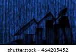 digital disruption concept... | Shutterstock . vector #464205452