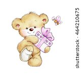 cute teddy bear | Shutterstock . vector #464210675