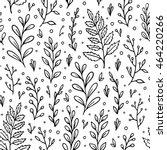 floral seamless pattern. vector ...   Shutterstock .eps vector #464220266