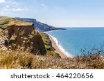 isle of wight in summer ... | Shutterstock . vector #464220656
