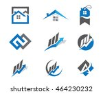 property logo template | Shutterstock .eps vector #464230232