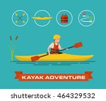 vector illustration of a... | Shutterstock .eps vector #464329532