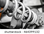 close up of motorcycle... | Shutterstock . vector #464399132