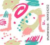 vector seamless pattern.... | Shutterstock .eps vector #464414252