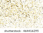 gold glitter texture isolated... | Shutterstock .eps vector #464416295